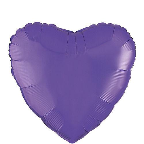 Giant Rainbow Open Heart Balloon Kit 7pc Image #8