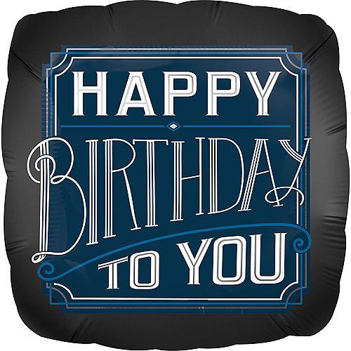 Happy Birthday Classic Balloon Image #1