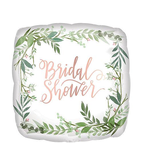 Floral Greenery Bridal Shower Balloon Image #1