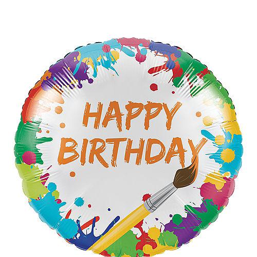 Art Party Balloon Image #1
