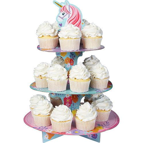Magical Unicorn Cupcake Pick Kit for 24 Image #2