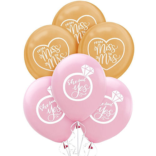 Mint to Be Floral Bridal Shower Balloon Kit Image #2