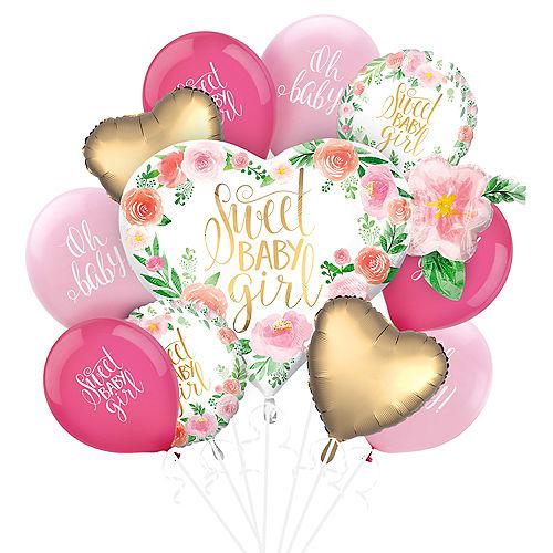Boho Girl Baby Shower Balloon Kit Image #1