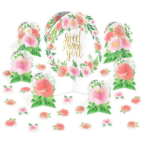 Ultimate Boho Girl Baby Shower Kit for 32 Guests Image #15
