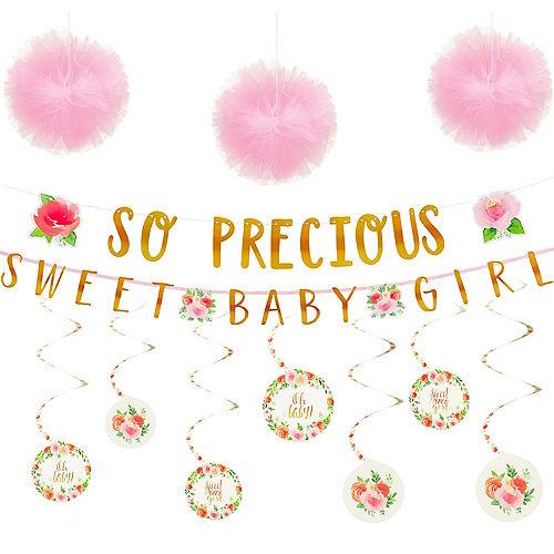 Boho Girl Baby Shower Decorating Kit Image #1