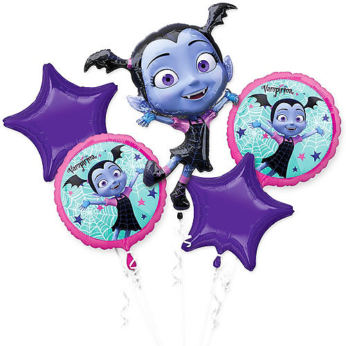 Vampirina Balloon Bouquet 5pc Image #1