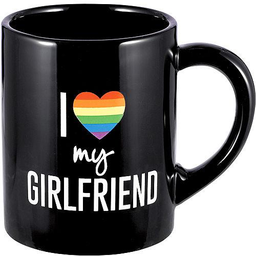 I Love My Girlfriend Coffee Mug Image #1