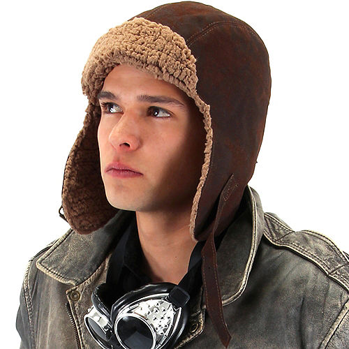 Adult Lined Aviator Hat Image #2