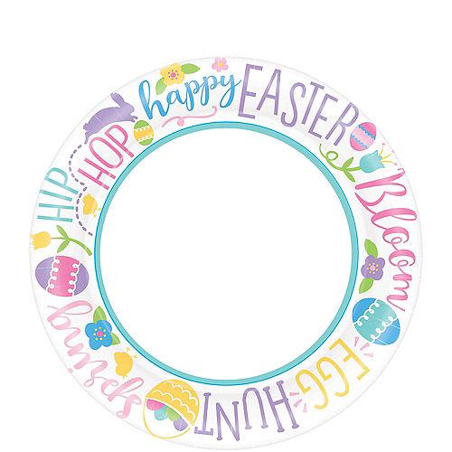 Hoppy Easter Dessert Plates 40ct Image #1