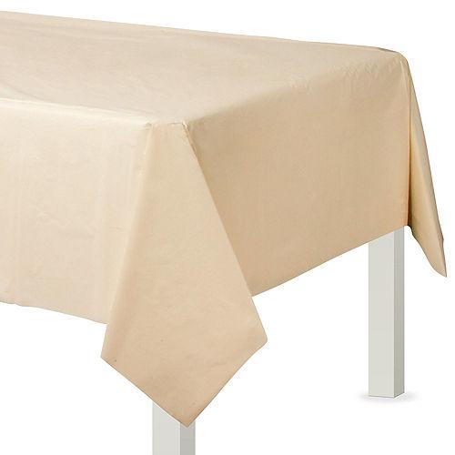 Vanilla Plastic Tableware Kit for 100 Guests Image #7