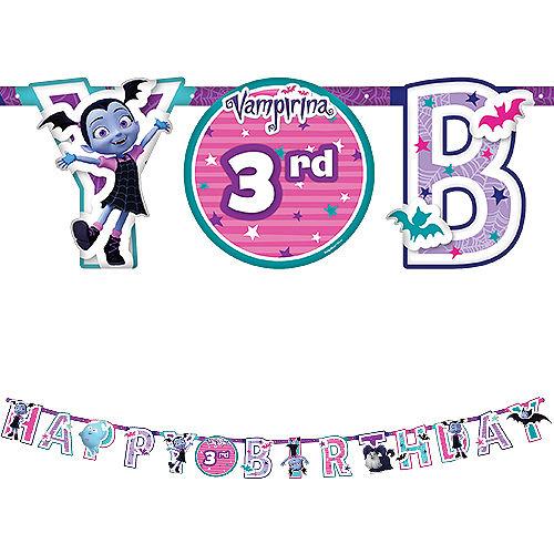 Vampirina Birthday Banner Kit Image #1