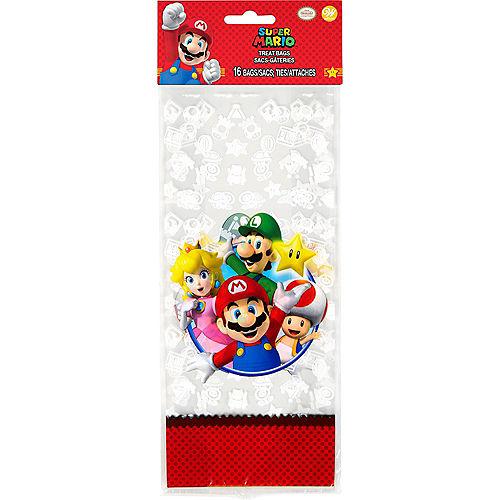 Wilton Super Mario Treat Bags 16ct Image #2