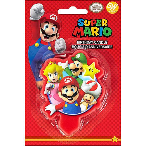 Wilton Super Mario Birthday Candle Image #2