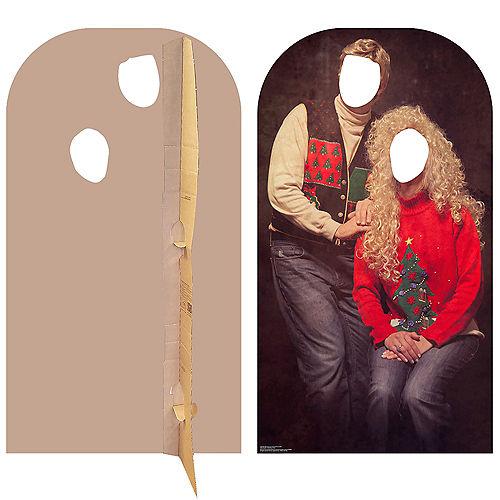 Ugly Christmas Sweater Life-Size Photo Cardboard Cutout Image #2