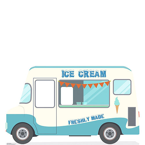 Ice Cream Truck Photo Standee Image #1