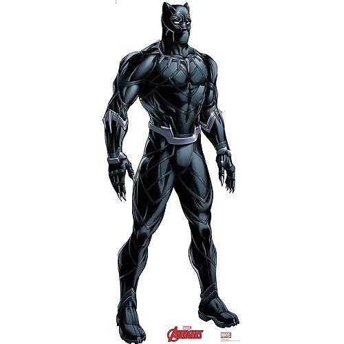 Black Panther Life-Size Cardboard Cutout - Avengers Image #1