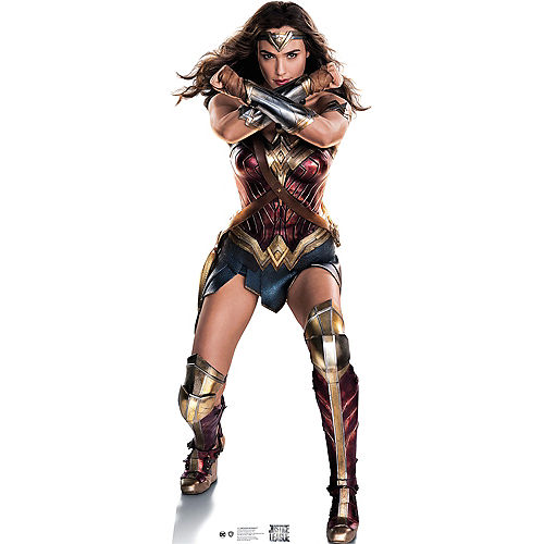 Wonder Woman Life-Size Cardboard Cutout - Justice League Image #1