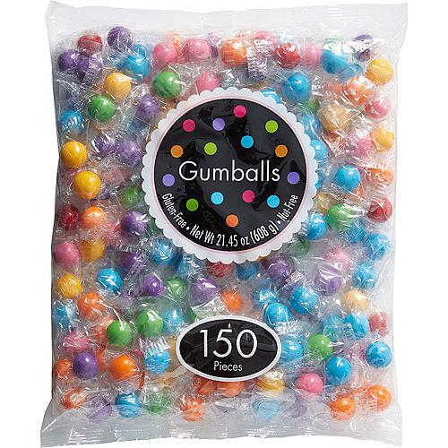 Multicolor Gumballs, 150pc Image #1