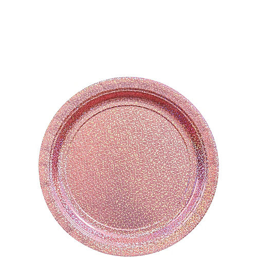 Prismatic Pink Tableware Kit for 16 Guests Image #2