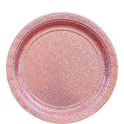 Prismatic Pink Tableware Kit for 16 Guests Image #3