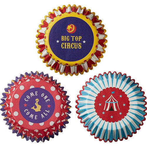 Circus Baking Cups 75ct Image #2