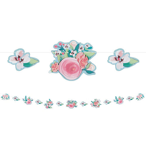 Mint to Be Floral Garland Image #1