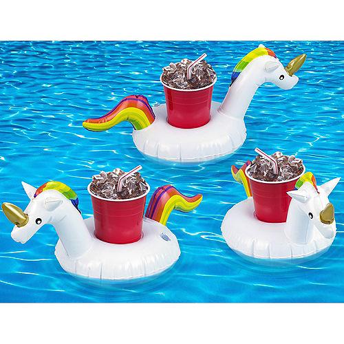 Rainbow Unicorn Drink Floats 3ct Image #2