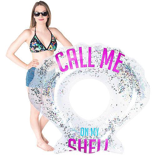 Seashell Confetti Pool Float Image #2