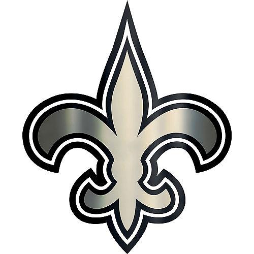 Metallic New Orleans Saints Sticker Image #1