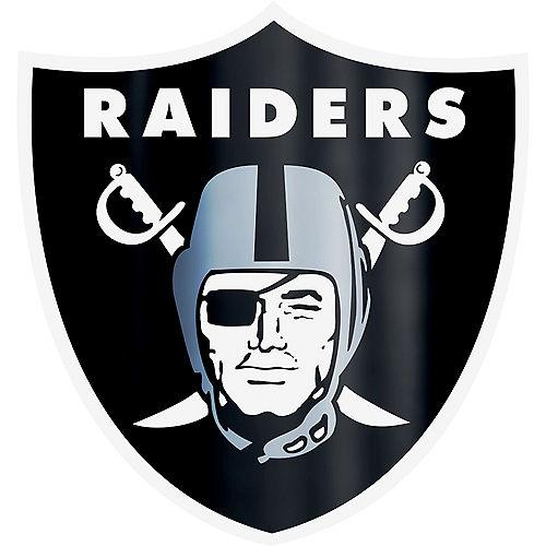 Metallic Las Vegas Raiders Sticker Image #1