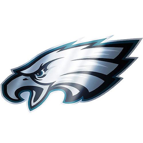 Metallic Philadelphia Eagles Sticker Image #1