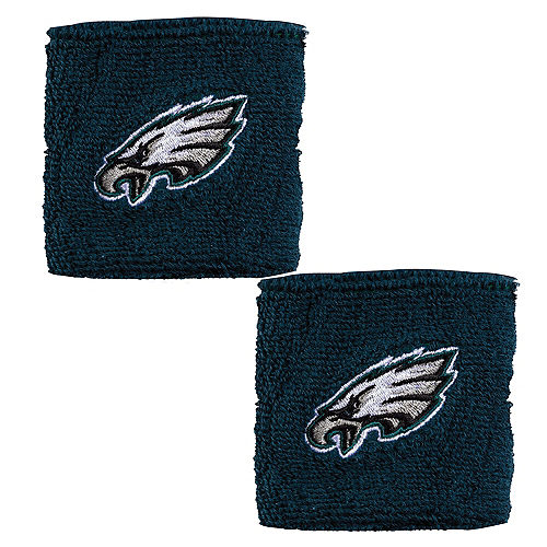 Philadelphia Eagles Wristbands 2ct Image #1
