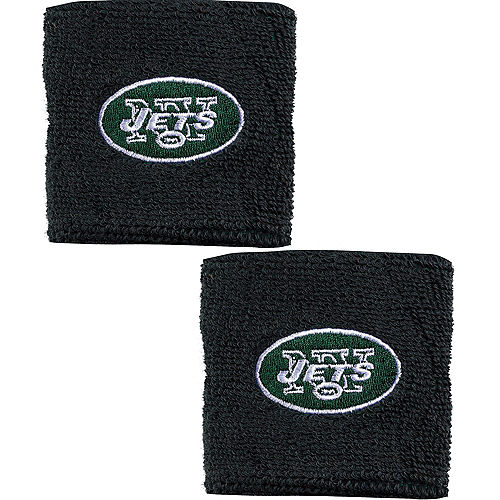 New York Jets Wristbands 2ct Image #1