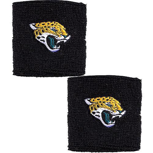 Jacksonville Jaguars Wristbands 2ct Image #1