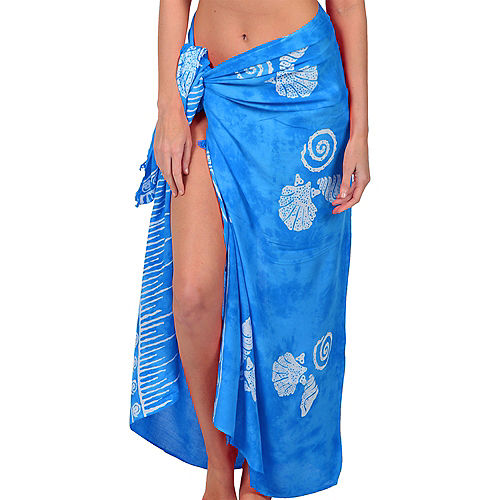 Adult Blue Sarong Image #1