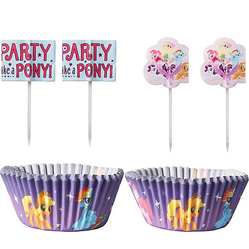 My Little Pony Cupcake Decorating Kit for 24 Image #1