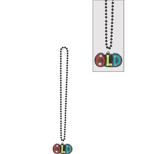Light-Up Over the Hill Bead Necklace Image #1