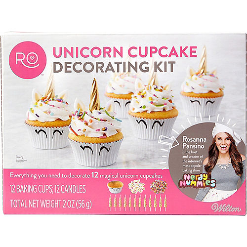 Wilton Rosanna Pansino Unicorn Cupcake Decorating Kit Image #2