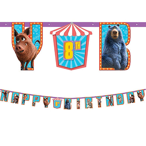 Wonder Park Birthday Banner Kit Image #1