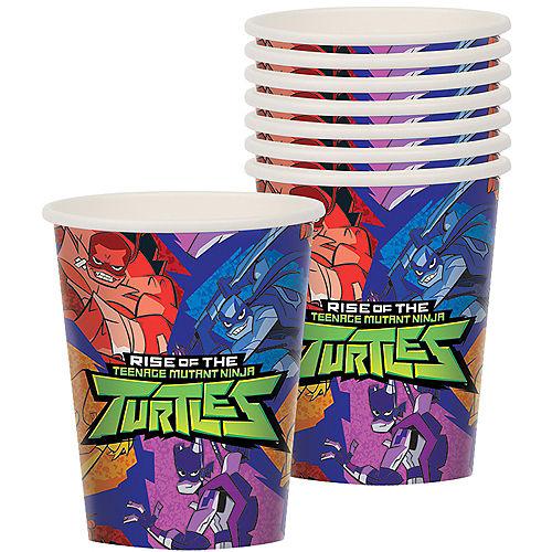 Rise of the Teenage Mutant Ninja Turtles Cups 8ct Image #1