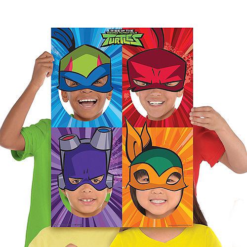 Rise of the Teenage Mutant Ninja Turtles Photo Booth Frame Image #1