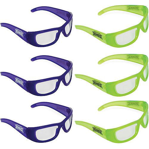 Rise of the Teenage Mutant Ninja Turtles Glasses 6ct Image #1