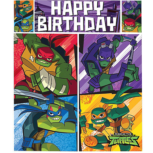 Rise of the Teenage Mutant Ninja Turtles Scene Setter with Photo Booth Props Image #3