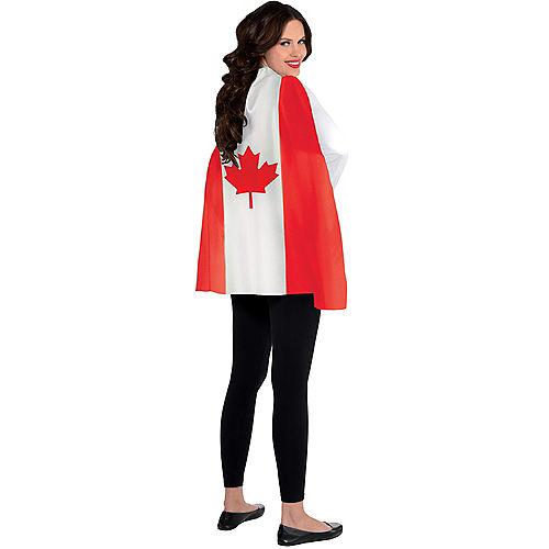 Canadian Flag Cape Image #1