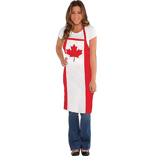 Canadian Flag Apron Image #1