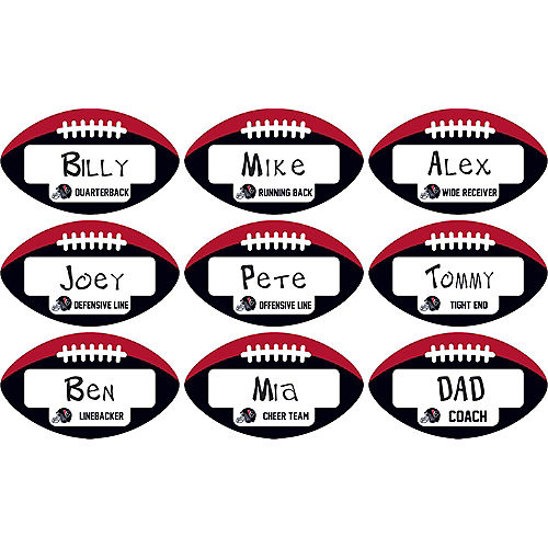 Houston Texans Place Cards 9ct Image #1