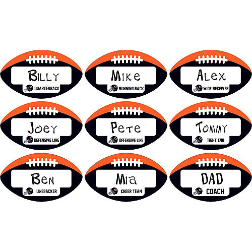 Chicago Bears Place Cards 9ct Image #1
