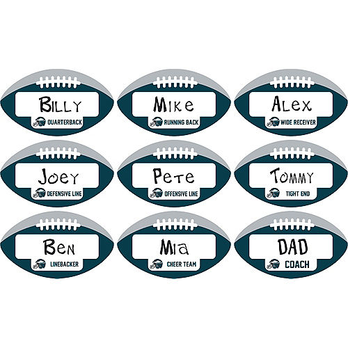 Philadelphia Eagles Place Cards 9ct Image #1