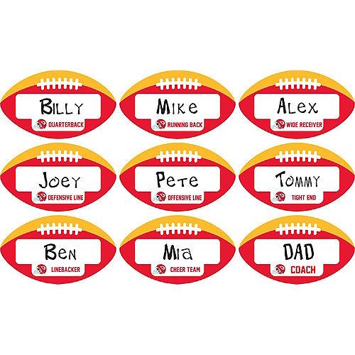 Kansas City Chiefs Place Cards 9ct Image #1