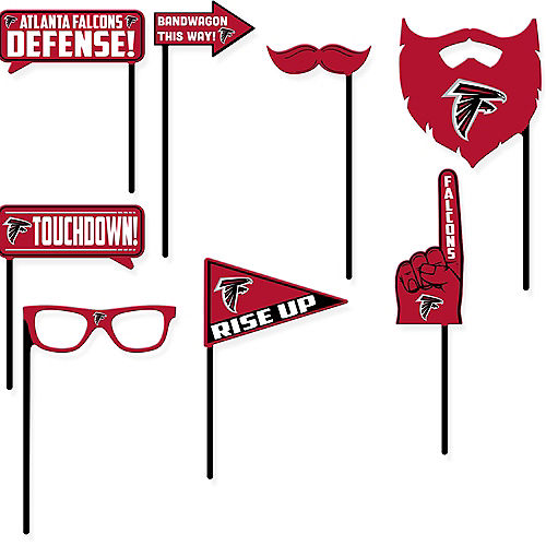 Atlanta Falcons Photo Booth Props 9ct Image #1